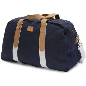 Sacs+de+voyage+Faguo+SAC+WEEKEND+BAG+48+en+coton+marine+Bleu+marine+120.00+€