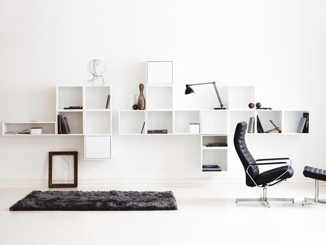 Photo : Skovdal.dk ::PRODUCTS:: I just love these cube storage units from Bolia.