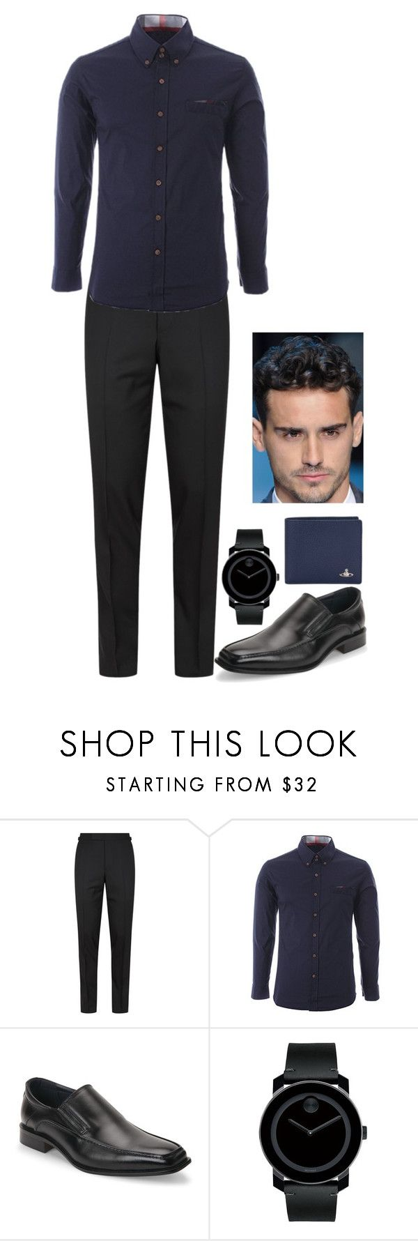 """""""N/A # 1832"""" by wendy00 ❤ liked on Polyvore featuring Tom Ford, Joseph Abboud, Movado, Vivienne Westwood, men's fashion and menswear"""