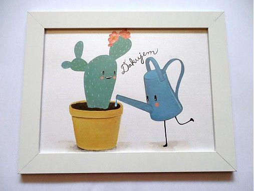 Kaktus by Da_Linka - SAShE.sk - Handmade Obrázky
