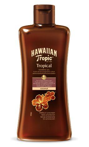 Hawaiian Tropic Aceite bronceador tropical (200ml)