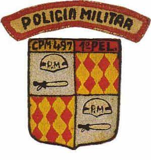 1º Pelotão da Companhia de Policia Militar 497 Angola