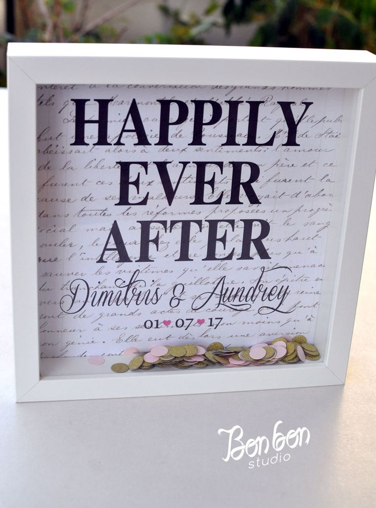 Personalized wedding gift_frame