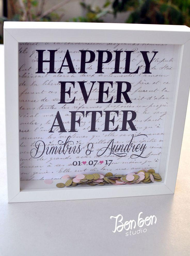 Personalized wedding gift_frame