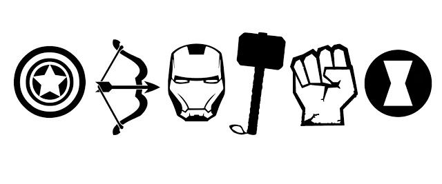 Doodlecraft: The AVENGERS T-shirt and Stencil!