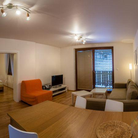 V Hrabove majú veľmi pekné apartmány