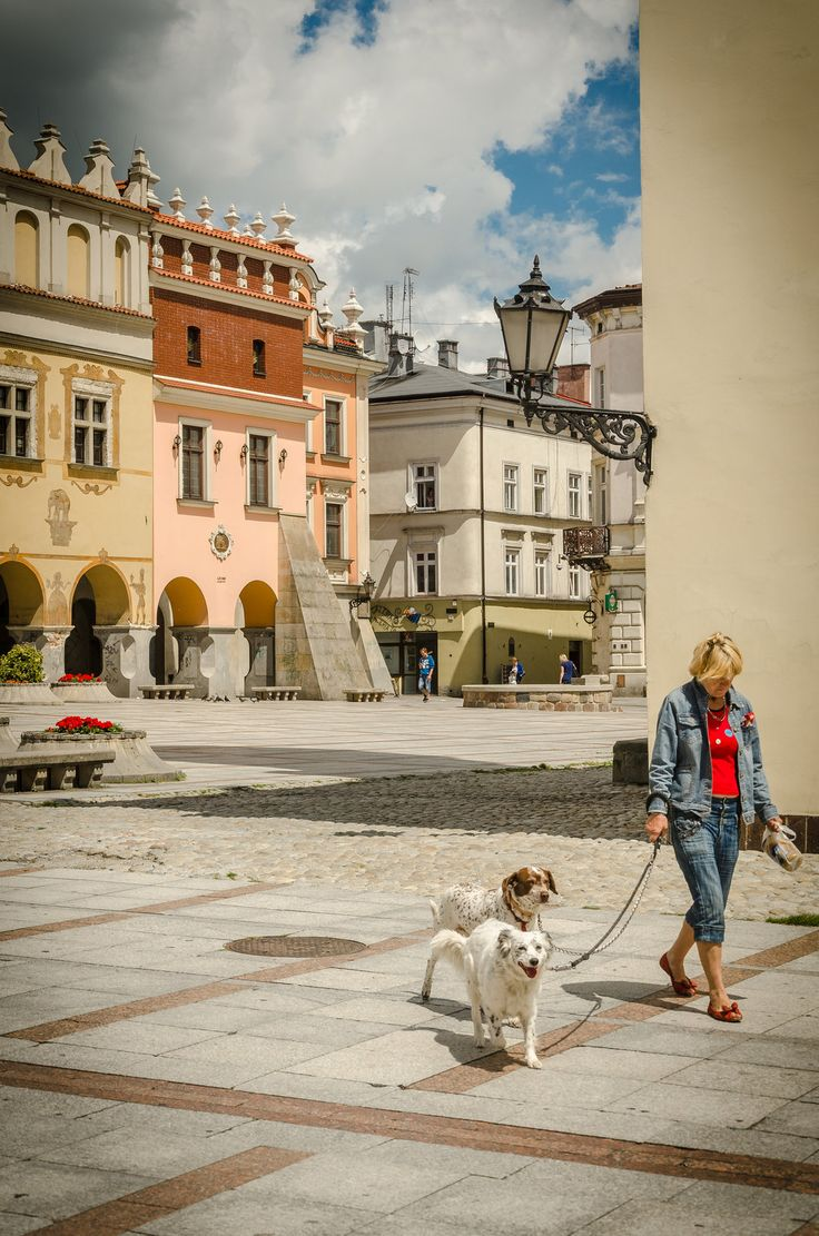 View of Tarnow Old Town - Poland, Noontime by marrciano on DeviantArt