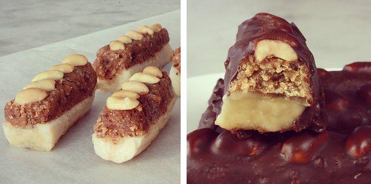 Dessa Snickersbars är ju princip godis för mig när jag vill äta nyttigt men även otroligt gott för den som bara vill äta något gott (för visst vill vi alla det? =).  Jag har varit så...