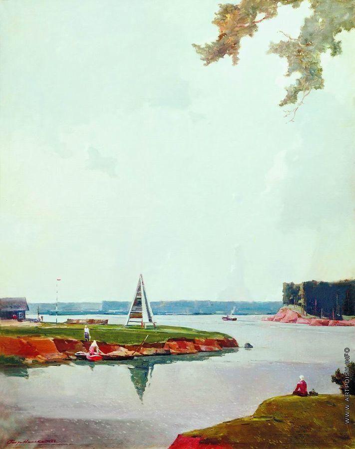 Нисский Георгий Григорьевич [1903—1987] После дождя. 1956