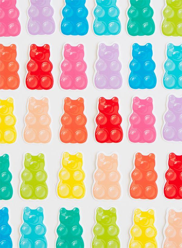 Libres ositos de goma para imprimir |  ¡Oh dia feliz!