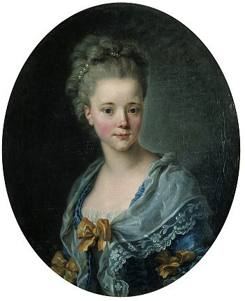 """Lady in a Blue Dress"", ca. 1770; VAM 542-1882"