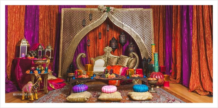 17 best images about sangeet decor moroccan theme on for Home decorating ideas indian style