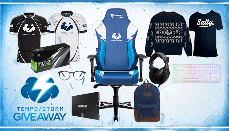 Enter This Holiday Bundle #Giveaway! Win A Nvidia GTX 1080, Tempo Storm #Gaming Chair And More!