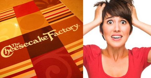 "How your #acting career is like The Cheescake Factory"" menu [BLOG]"