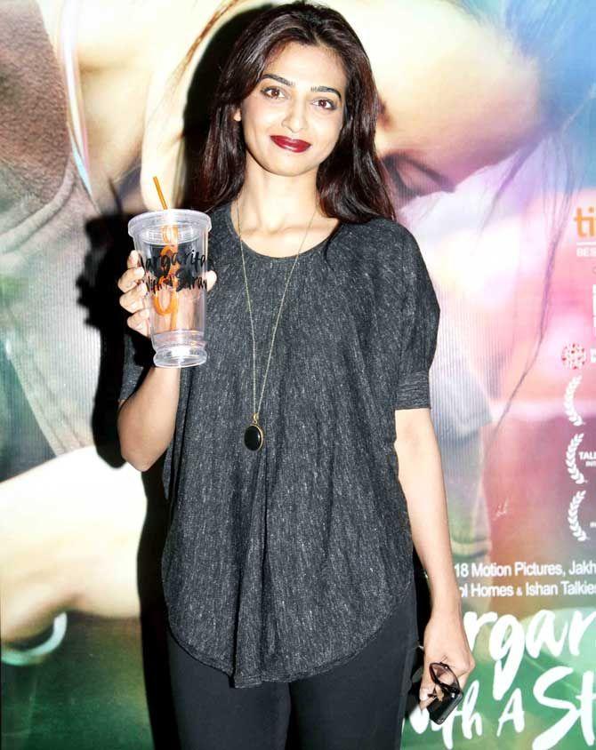 Radhika Apte at the screening of 'Margarita With A Straw'. #Bollywood #Fashion…