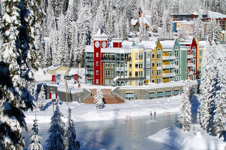 Silverstar- BC We are staying in this lodge pictured......