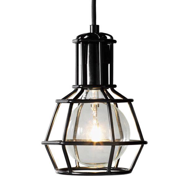 Work lamp, black