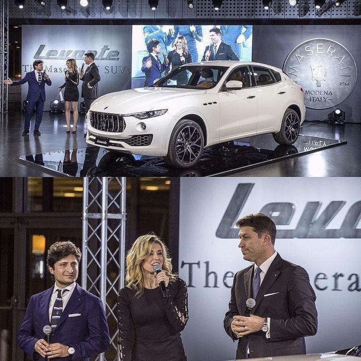 #ElenaBarolo Elena Barolo: ~ introducing #levante the Maserati of suv's in Torino  ~ #elenabarolo #museodellautomobile #levante #maserati #presentation #event #car #dreamcar #suv #torino