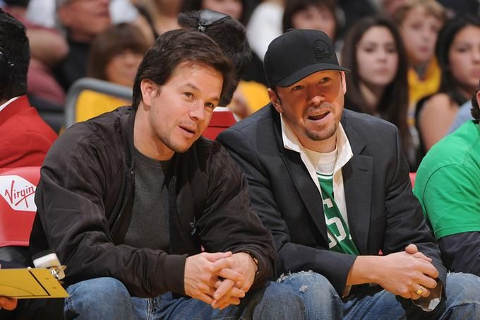 Donnie and Mark Wahlberg