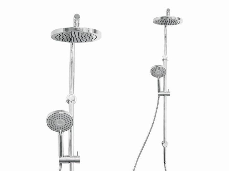 Hudson Overhead Shower Rail