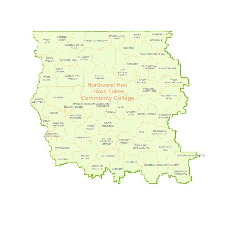 The Northwest Iowa STEM Region is a collaborative effort with Iowa Lakes Community College. The Northwest Region is able to use the strengths from the institution to help expand STEM into the communities served in Northwest Iowa.