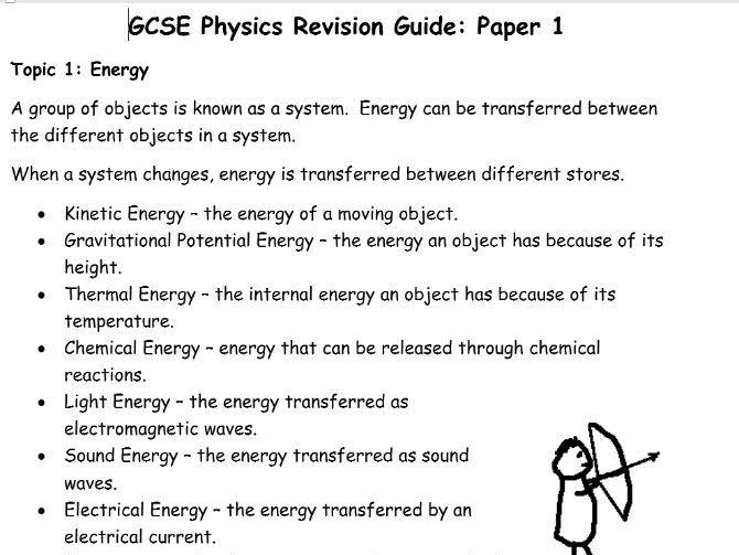 AQA GCSE Physics Revision Guide