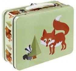 Metall Kinder Koffer FOX