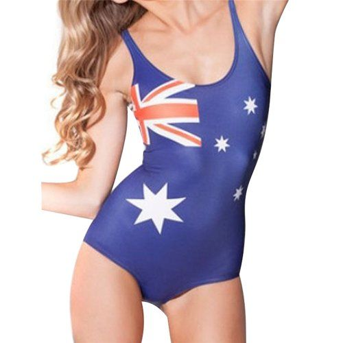 One-Pieces  New Arrival Womens US Flag Digital Print One Piece Swimsuit Swimwear Bikini ** This is an Amazon Associate's Pin. View the item in details on Amazon website by clicking the image