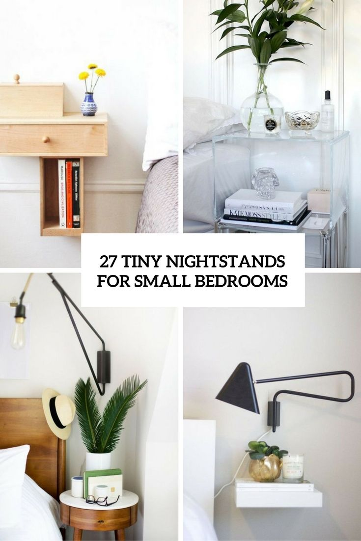 25 best ideas about small nightstand on pinterest - Master bedroom ideas for small spaces ...