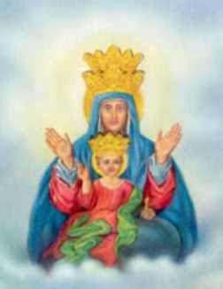 """GESU' E' DI RITORNO ORA!: La  Madre  della  Salvezza:  l""""ultimo  giorno,  qu..."""