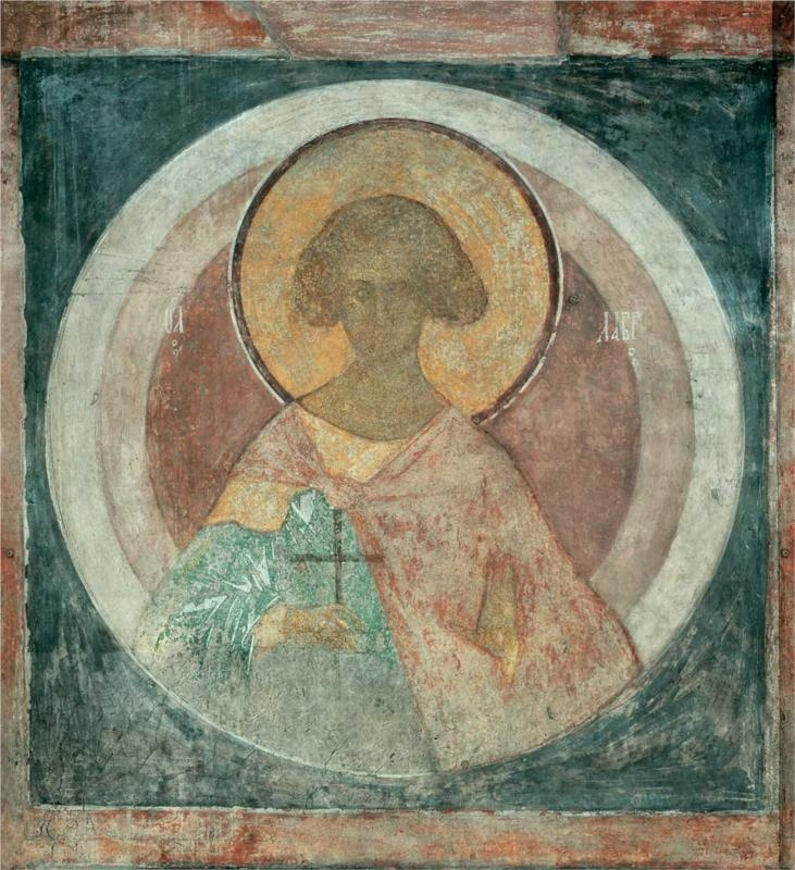 St. Laurus, 1400Andrei Rublev - by style - Byzantine