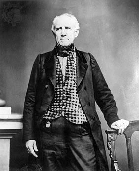 Sam Houston was sworn in as the first president of the Republic of Texas on October 22, 1836.