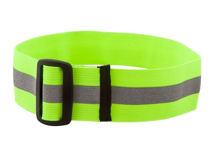 Canine Friendly Reflective Cuffs: 3M reflective, adjustable elastic, small to xx-large