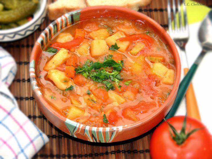 Gulas fara carne- mancarica de cartofi