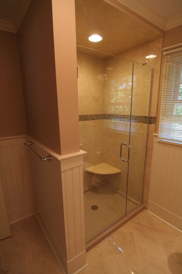 French provincial traditional bathroom sacramento by lee - Large Tiled Walk In Shower 3 Day Kitchen Bath