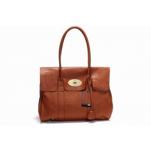 Unique Mulberry Bayswater Natural Leather Oak