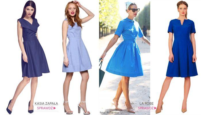 KASIA ZAPAŁA Sukienka Ryoko: https://www.saltandpepper.pl/sukienka-ryoko.html  KASIA ZAPAŁA Sukienka Naomi: https://www.saltandpepper.pl/sukienka-naomi.html  LA ROBE Sukienka Agnes kobalt https://www.saltandpepper.pl/sukienka-agnes-kobalt.html