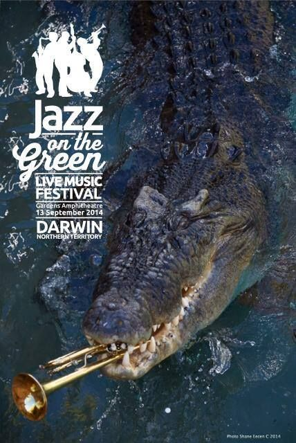 Going to see the singing croc at Jazz on the Green! http://www.jazzonthegreen.net.au/