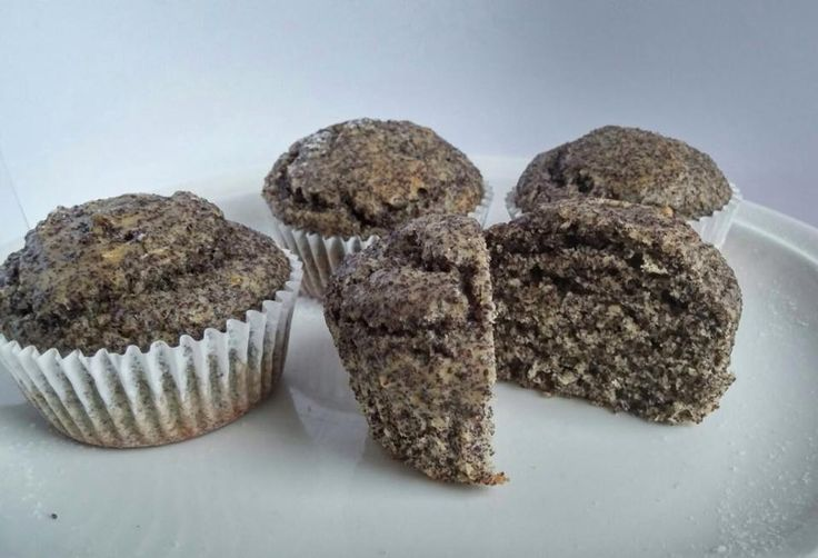 makové muffiny - poppy muffins