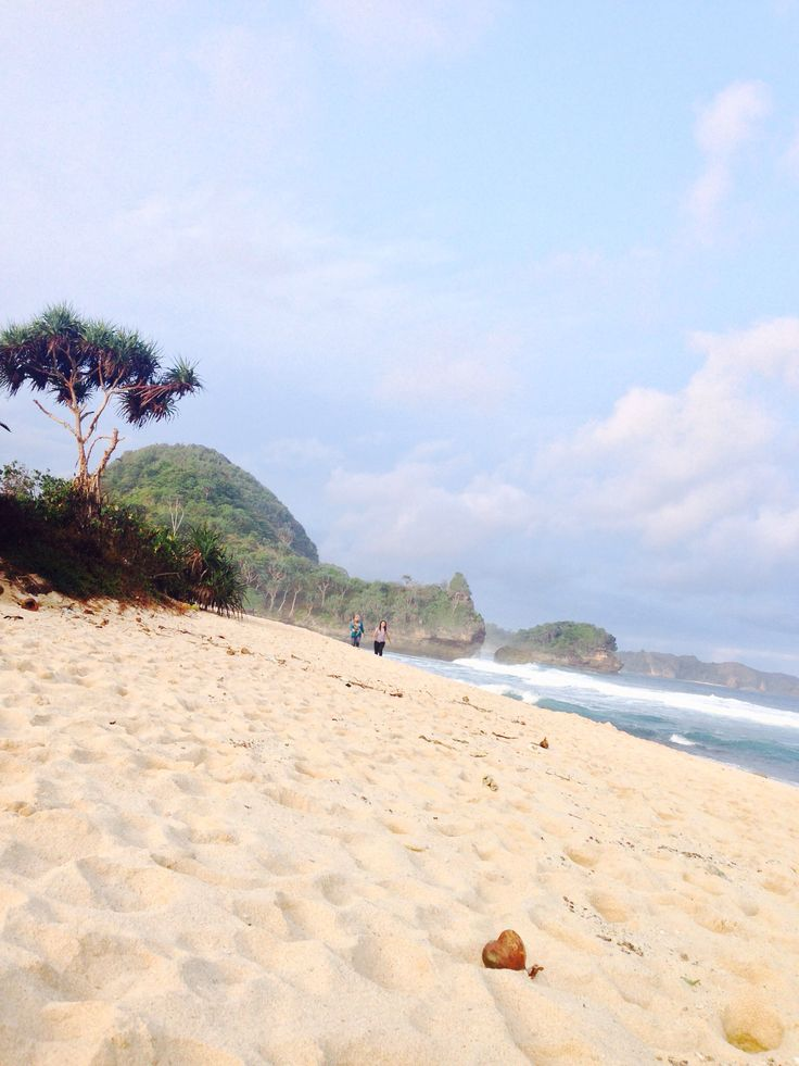 Goa Cina beach, Malang, Indonesia