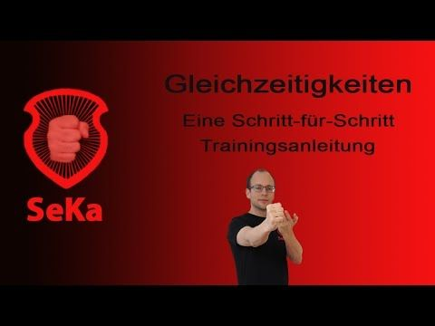 Wing Chun Gleichzeitigkeiten: Tan Sao Fauststoß und Wendung