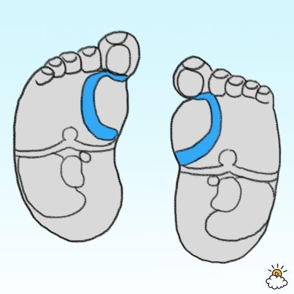 Ak patríte k rodičom, ktorí sa veľmi radi dotýkajú drobných chodidiel vášho bábätka, máte ďalší dobrý dôvod na to, prečo by ste sa toho nemali vzdať.