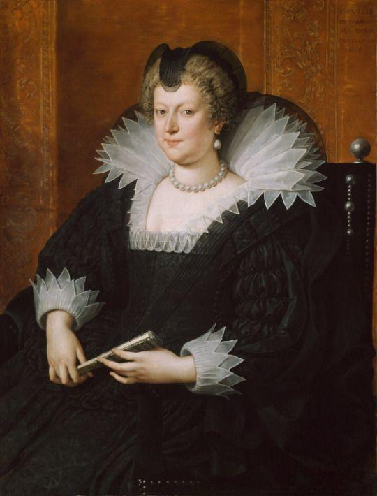 1616 Frans Pourbus the Younger - Marie de Médicis