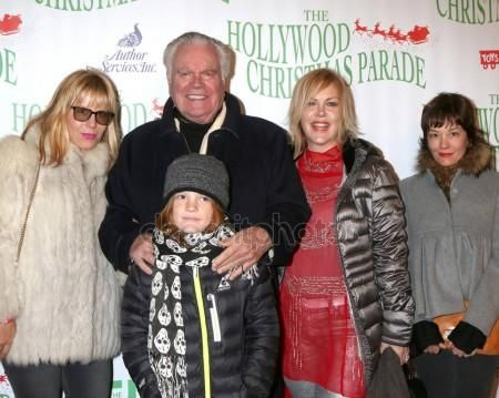 Nov. 27, 2016:  Courtney Brooke Wagner, Robert Wagner, Riley Wagner-Lewis, Katie Wagner, Natasha Gregson Wagner at the 85th Annual Hollywood Christmas Parade at Hollywood Boulevard in Los Angeles, CA.