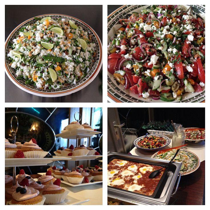 Heerlijk mediteraans/Arabisch buffet gemaakt voor bruiloft