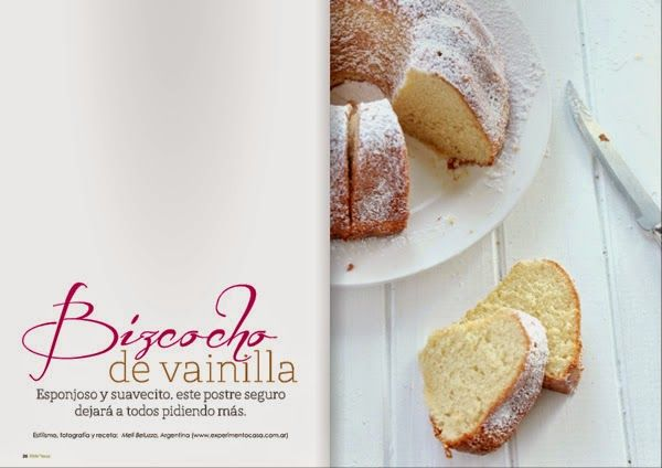 Little * Haus Magazine: En la cocina: Budín de vainilla... o chocolate