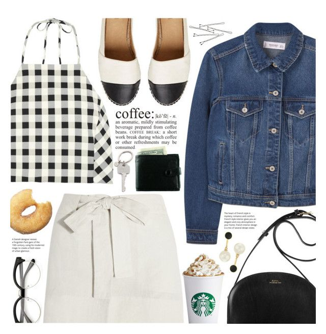 """""""coffee break ☕️"""" by valentino-lover ❤ liked on Polyvore featuring Paul Smith, MANGO, rag & bone, Étoile Isabel Marant, WALL, BOBBY and Kate Spade"""
