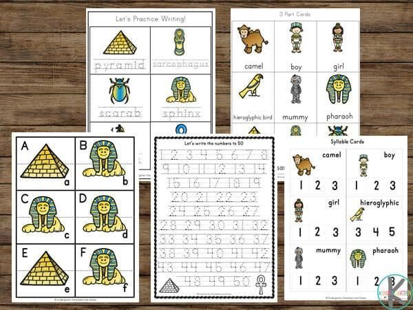 8 Printable Preschool Math Worksheets Free