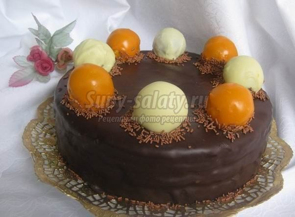 Приготовить торт на день рождения