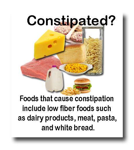 Low Fiber Foods For Constipation